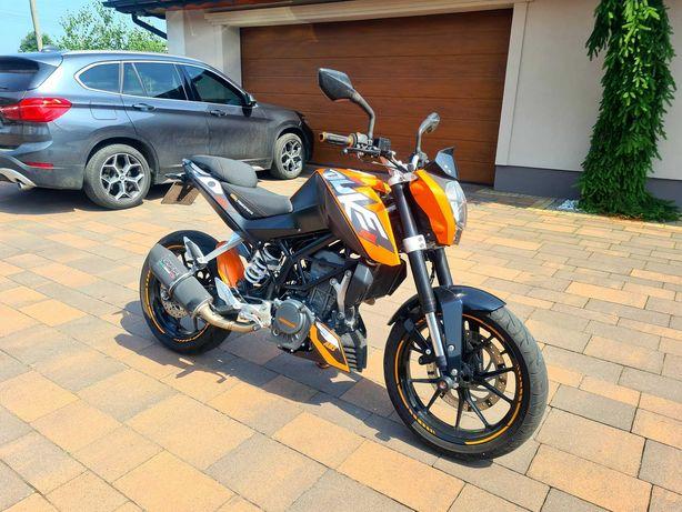 KTM DUKE 125 ABS Stan Idealny ! Dużo Dodatków ! 2013 r ! TRANSPORT