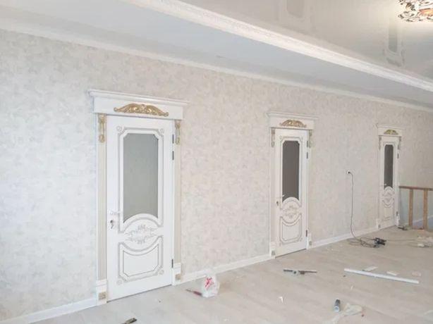 Шпаклевка, поклейка обоев, ремонт в квартире, покраска стен, укладка