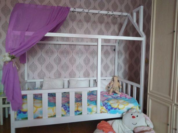 Дитячі ліжечка ліжка кроватка кровать будинок домик дом розпродаж