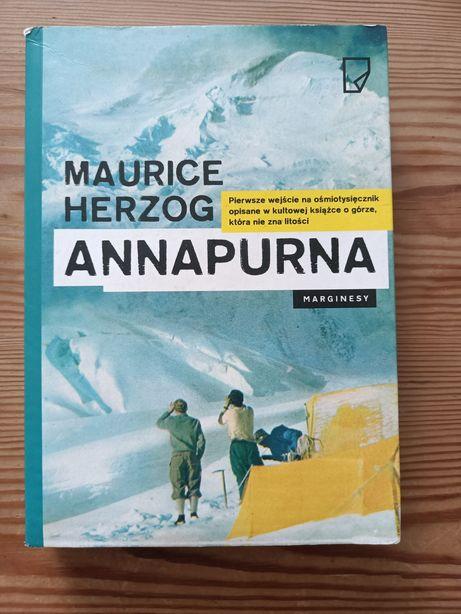 Maurice Herzog Annapurna marginesy