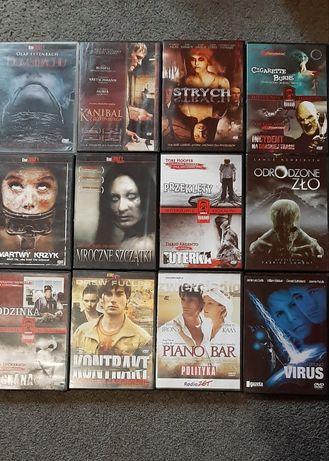 Kino grozy horrory na DVD 12sztuk