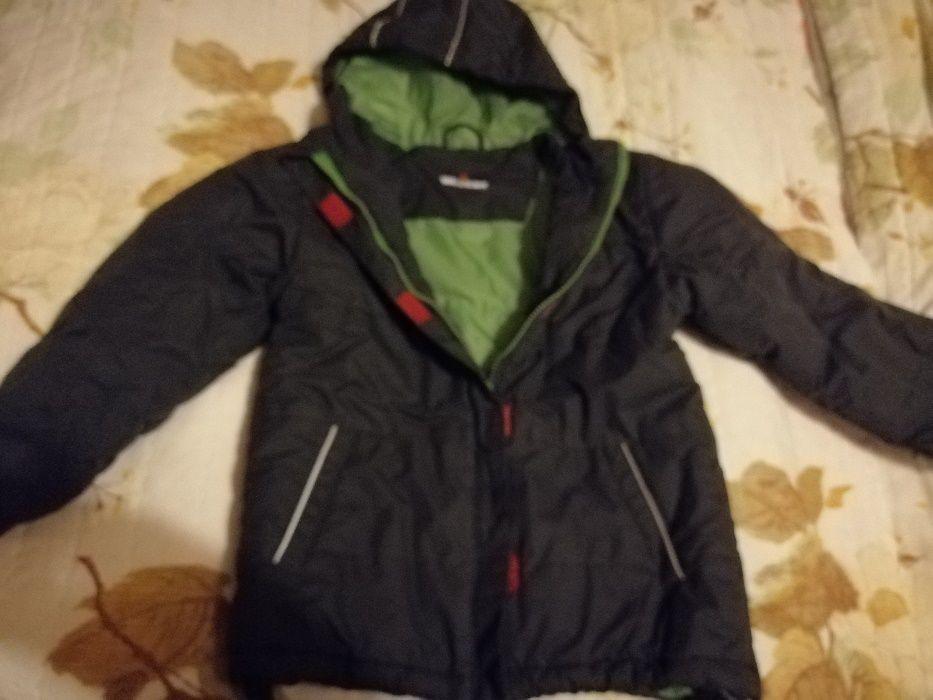 Куртка теплая раз 134-140 в отличном состоянии . Александрия - изображение 1