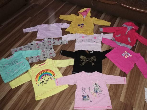 Ubranka dla dziewczynki 3-9 miesięcy 120 sztuk