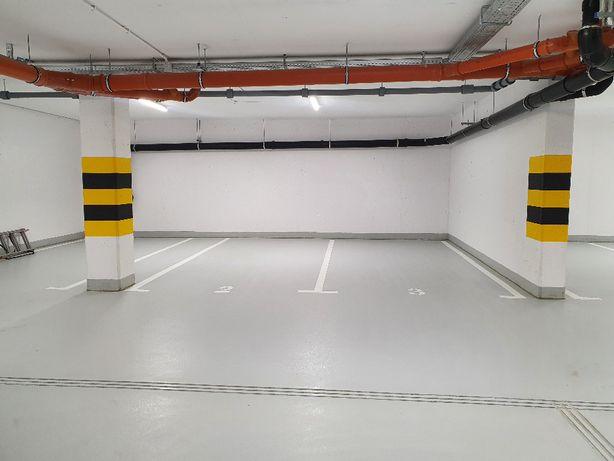 Miejsce parkingowe (2 obok) w podziemnym garażu Narutowicza Residence