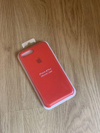 Apple etui case iphone 7 plus/8 plus czerwony