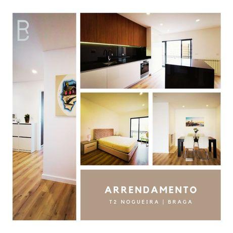 Apartamento T2 Remodelado, Mobilado e Equipado em Nogueira- Braga