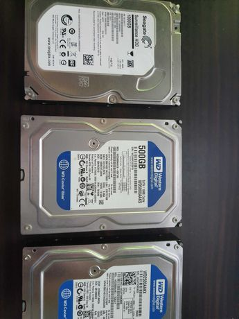 Жесткий диск HDD 2.5 3.5 SATA. Легкое БУ. 1000GB.,500GB.,250GB..