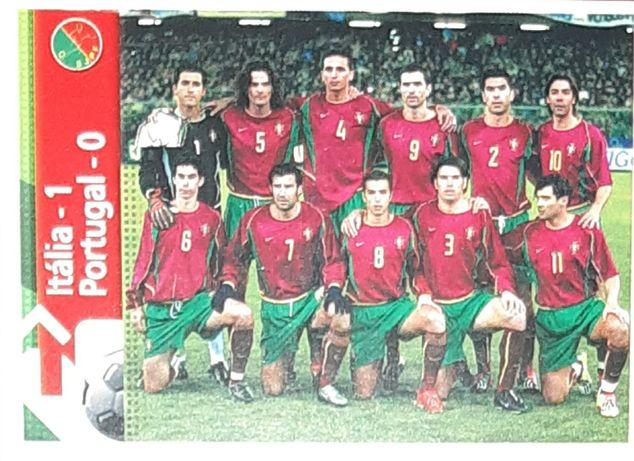 Cromo raríssimo da seleção portuguesa