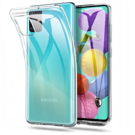 Pokrowiec silikonowy Samsung Galaxy A42 5G A51 A71 A51 5G Warszawa