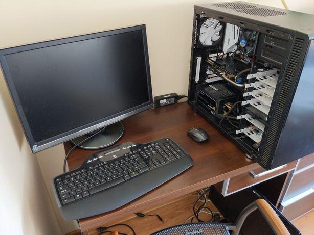 Komputer PC Valheim i7 6700 ddr4 GeForce GTX 970 4gb SSD gwaranc LCD