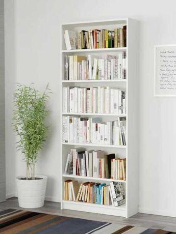 3x Estantes BILLY, branco 80x28x202 cm (IKEA)