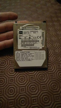 HDD 2.5 polegadas IDE 80Gb