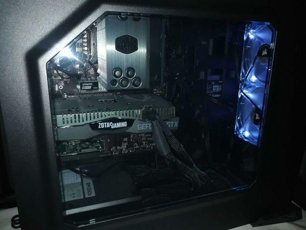 Desktop - i5-9400F, GTX 1660 Ti, 32GB RAM, SSD, WIFI + Monitor 144Hz