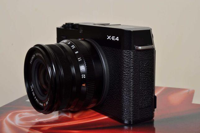 Fuji X-E4 nova + XF 16mm F:2.8 WR nova + Carreg USB. Fatura/nif garant