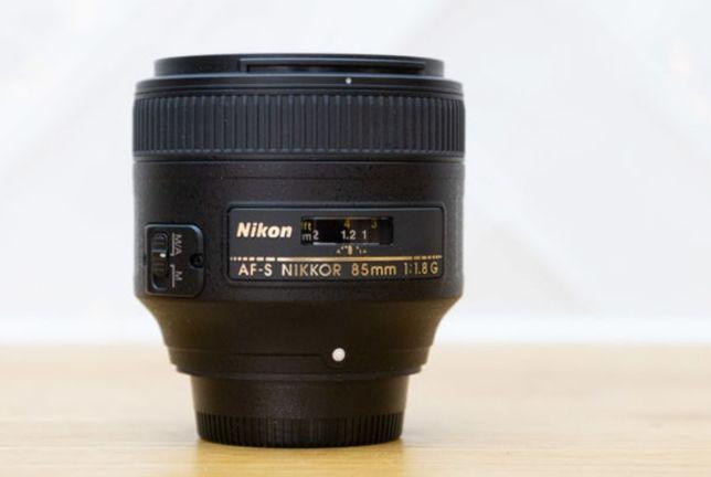 Vendo lente nikon 85mm 1.8G