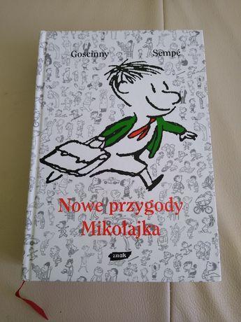 Nowe przygody Mikołajka książka