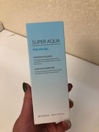 Пилинг-скатка Missha Super Aqua Peeling Gel
