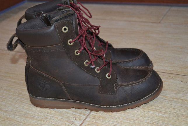 Timberland 38р оригинал. ботинки демисезон кожаные