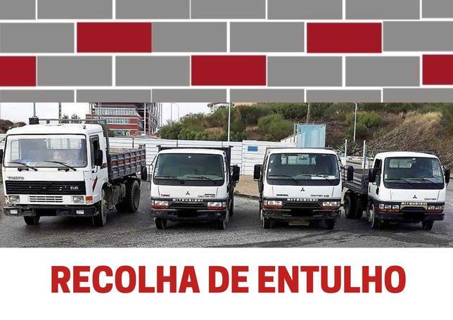 RECOLHA DE ENTULHO E LIXO DOMÉSTICO COM PESSOAL QUALIFICADO