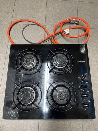 Płyta kuchenna. Kuchnia kuchenka gazowa