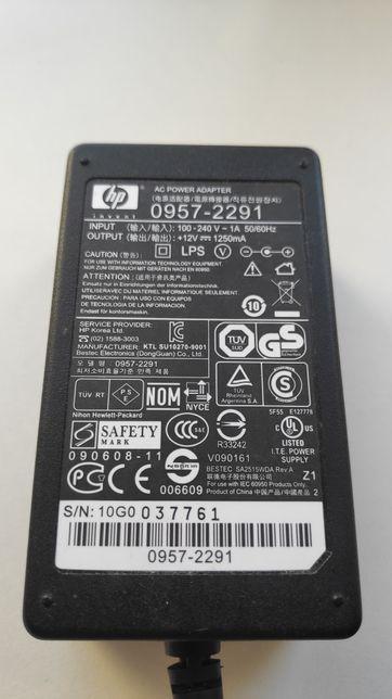 Блок питания HP 12v 1250mА Model 0957-2291