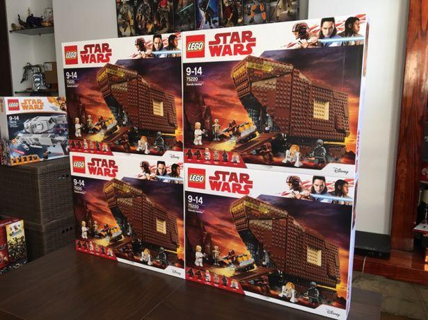 Lego 75220 Star Wars Sandcrawler Nowe Lego Ogromne Oryginalne