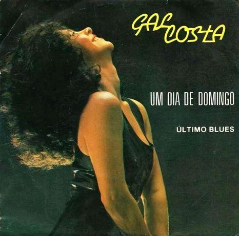 "Gal Costa - ""Um Dia de Domingo"" (Disco Vinil Single)"