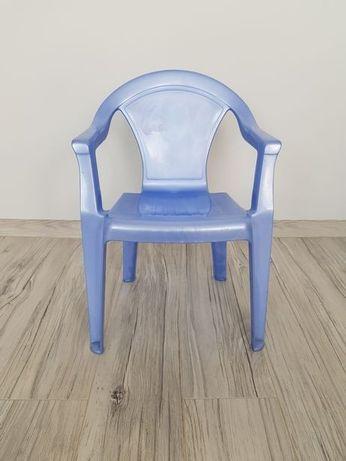 Krzesełko plastikowe dziecko