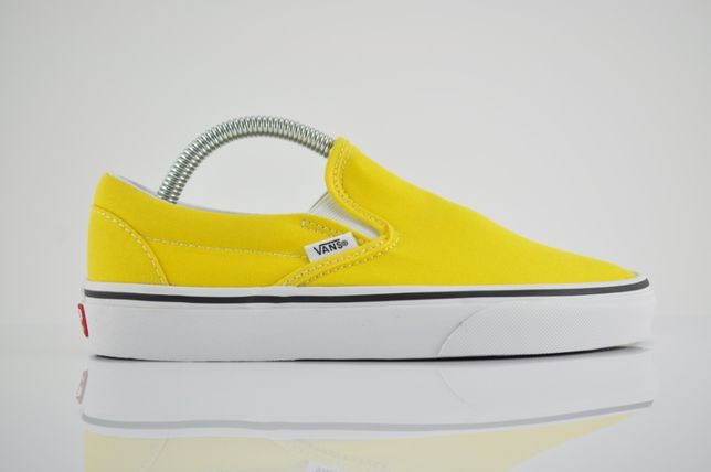 "Vans Classic Slip-On ""Yellow"" 36,5 40,5 nowe żółte wsuwane PURRFECT"