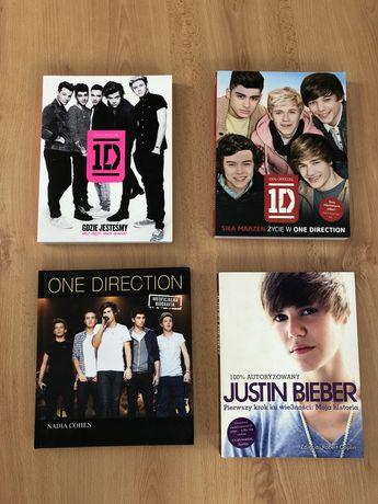 Książki One Direction, Justin Bieber