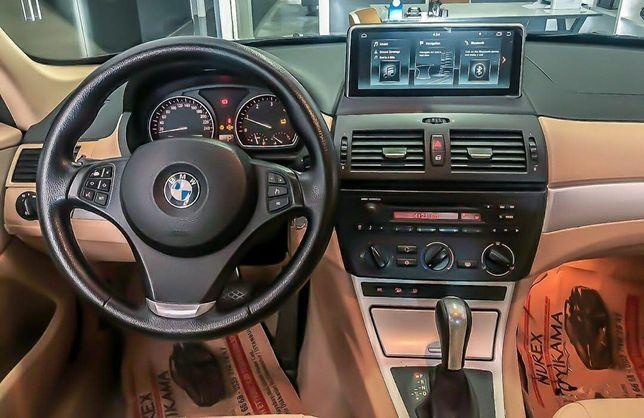 Auto Rádio BMW X3 E83 2004 a 2011 GPS USB Bluetooth Android