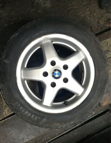 Диски KBA R15 с BMW e36