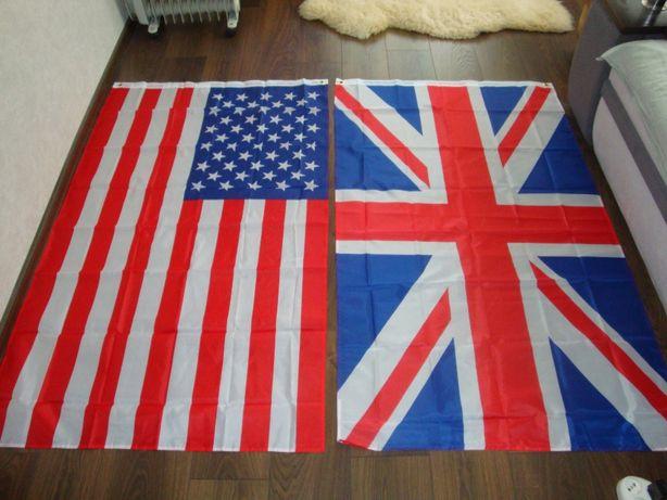 Флаг США,Австралия,Британия /1шт./