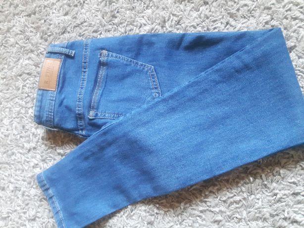 jeansy spodnie niebieskie nowe rurki