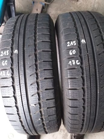 Opony zimowe 215/60 R 17 c Nokian Wr c 7 mm