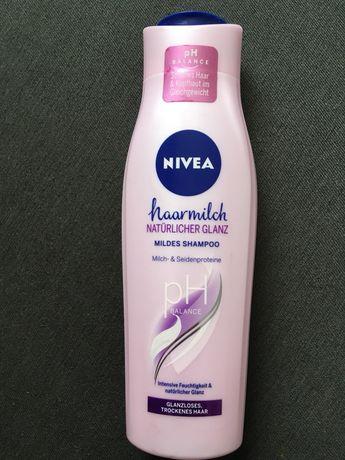 Nivea szampon mleczko do wlosow suchych