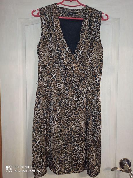 Нарядное платье Mohito леопард