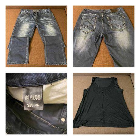 Мужские свитер, джинсы