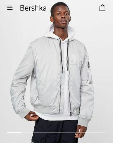 Куртка бомбер мужская Bershka