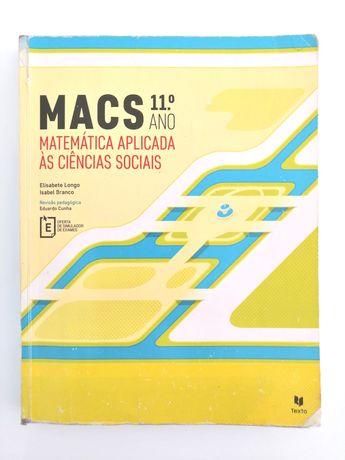 Macs 11 - Matemática Aplicada às Ciências Sociais