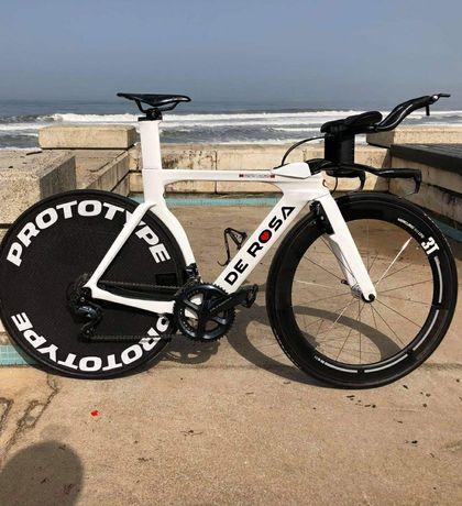 Bicicleta estrada original #topo Gama# DE ROSA TT03 contra relógio