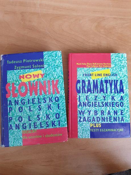 Słownik angielsko-polski + gramatyka