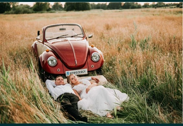 Auto do ślubu Garbus