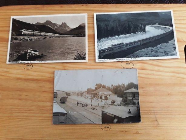 Postais antigos Comboios (Old Post Cards)