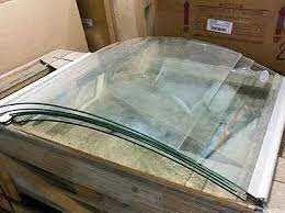 стекло гнутое для холодильной витрины Технохолод Росс Cold