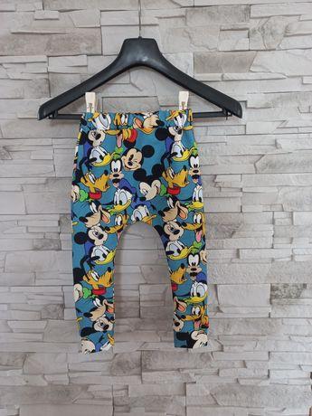 Spodnie,dresy baggy miki Donald