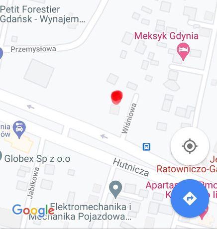 Działka przemysłowa - 590 m2 w Gdyni