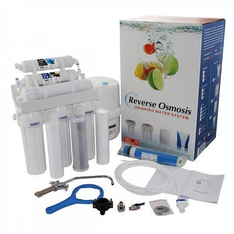Montaż i serwis filtrów odwróconej osmozy, czysta woda do picia