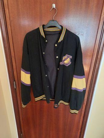 Casaco Vintage NBA Los Angeles Lakers