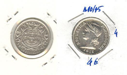 Moeda $10/15 prata